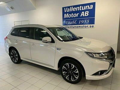begagnad Mitsubishi Outlander P-HEV Business NAV Safety Hybrid 4WD Krok
