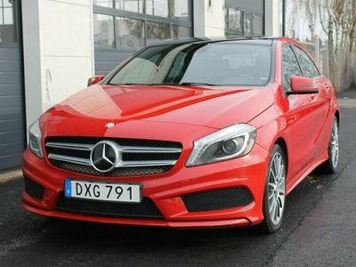 begagnad Mercedes A180 CDI AUTOMAT AMG SPORT /GLASTAK/18tum/
