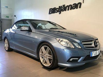 usata Mercedes 350 E-KLASSCDI Cabriolet BlueEFFICIENCY 7G-Tronic 231hk