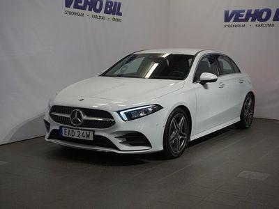 begagnad Mercedes A200 d Aut AMG Line Premiumpak -19