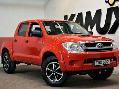 begagnad Toyota HiLux Dubbelhytt 2.5 | 4x4 | Drag | Moms | Nybesiktigad