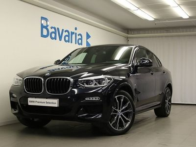 begagnad BMW X4 xDrive30i M Sport Innovation pkt Connected Winter