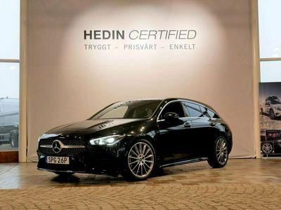 begagnad Mercedes CLA250 - BenzAMG / PREMIUMPAKET / WIDESCREEN / DRAG