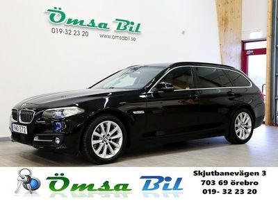 begagnad BMW 520 d Touring Steptronic SKINN HIFI M-rat -17