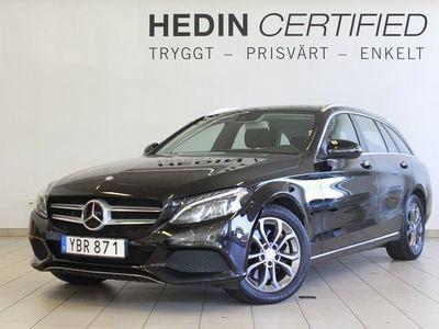 begagnad Mercedes C300 Hybrid Multibeam Kurshållningspaket Backkamera