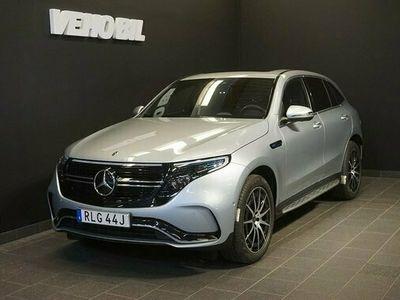 begagnad Mercedes EQC Benz 400 AMG 360-Kamera Aut Drag Distronic Nav Multibeam 2021, SUV Pris 759 000 kr