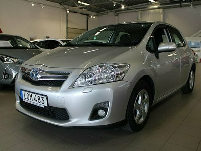 begagnad Toyota Auris 1.8 Elhybrid Plus