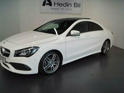 begagnad Mercedes 180 CLA BenzCOUPÉ 7G-DCT AMG Paket Panorama gl 2018, Sportkupé Pris 244 900 kr