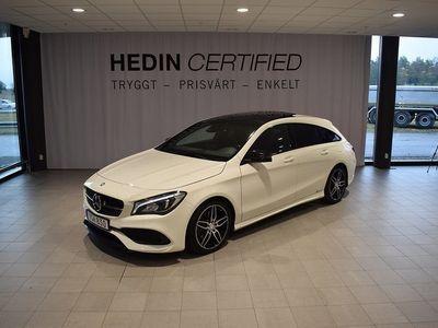 begagnad Mercedes 250 CLA Benz4MATIC SB P-Värmare AMG NIGHT PACKAGE 2017, Sportkupé 274 500 kr