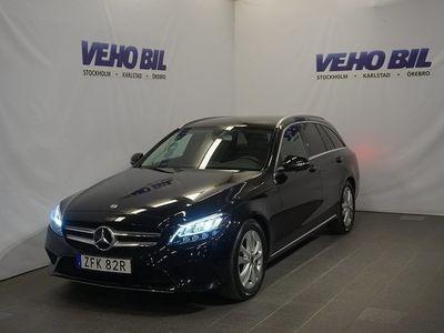 begagnad Mercedes C200 Kombi Avantgarde Backkamera Aut Drag Nav