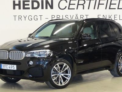begagnad BMW X5 40d M-Sport Innovation Ed Drag Panorama Navi