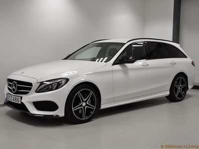 begagnad Mercedes C220 T d 7G-Tronic Plus, 170hk AMG Night