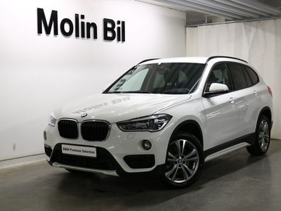 begagnad BMW X1 xDrive20d Sport paket / Navigation / Drag