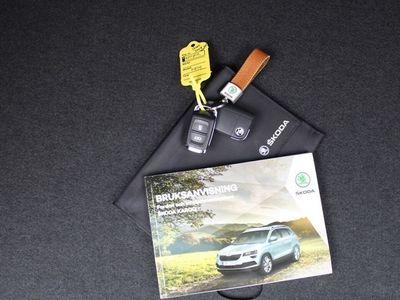 begagnad Skoda Karoq Sportline TSi 190 DSG 4X4 /Webasto /Drag /Backkame