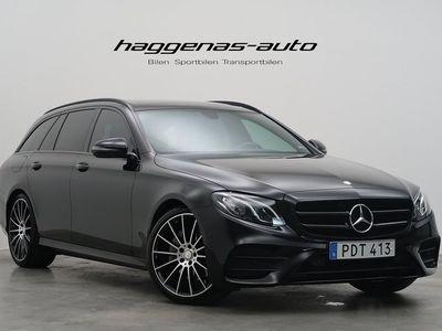 gebraucht Mercedes E220 AMG Paket / Night / Panor -17