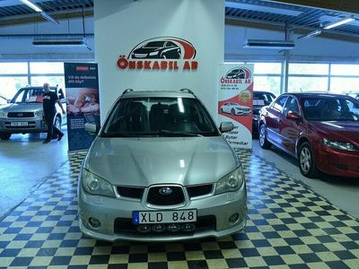 begagnad Subaru Impreza Kombi 2.0 4WD Drag 2006, Personbil Pris 44 900 kr