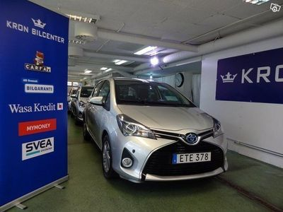 begagnad Toyota Yaris Hybrid 1.5 Active GPS Backkamera
