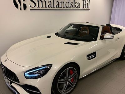 begagnad Mercedes AMG GT Benz C Roadster Exclusive Leather, AMG Dynamic Plus Euro 6 2019, Sportkupé 1 559 000 kr