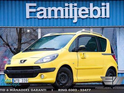 begagnad Peugeot 1007 1.6 (110hk) Auto/1-äg/Drag/El-Dörrar/Sv-Såld