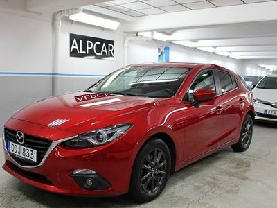 begagnad Mazda 3 Sport 2.0 NAVI 1 ÄGARE AUT NYSERVAD