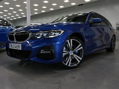 "begagnad BMW 330e xDrive Touring M Sport Connected 19"" Drag HiFi"