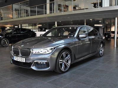 begagnad BMW 740 d xDrive M-sport Laserlight Se utr 2016, Sedan 560 000 kr
