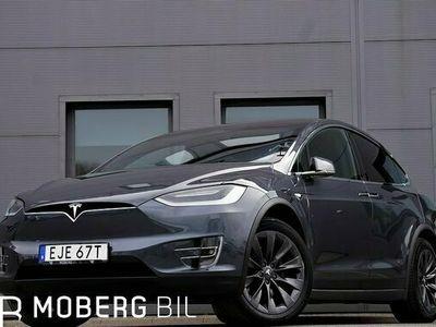 begagnad Tesla Model X Long Range 423hk Autopilot Premium Kolfiber