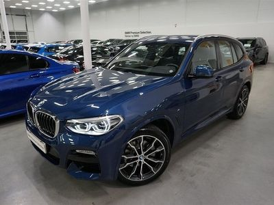 begagnad BMW X3 20d xDrive M-Sport Drag Navi Värmare Hifi 2019, SUV 459 900 kr