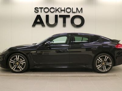 begagnad Porsche Panamera Diesel / Sport Chrono / Sv Såld /