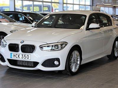 begagnad BMW 118 d M Sport Aut Läder Euro 6