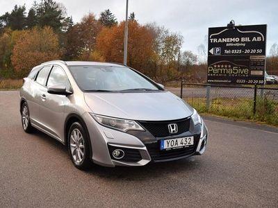 begagnad Honda Civic 1.6 i-DTEC Tourer 2017, Sedan 154 900 kr