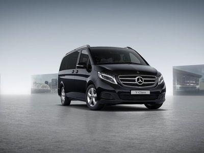 begagnad Mercedes V220 D Edition Lång -19