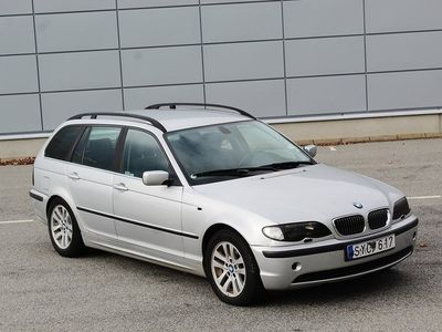 begagnad BMW 320 i Touring Kombi 170hk Bra skick Svensksåld