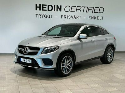 begagnad Mercedes GLE350 - Benzd 4MATIC Coupé 9G - Tronic,AMG 258hk,