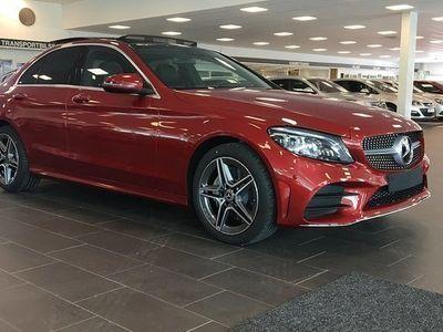 begagnad Mercedes 220 Benz C d 4MATIC Sedan AMG SKY Facelift 2019, Sedan 556 900 kr