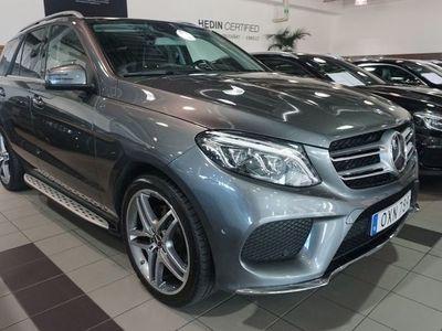 begagnad Mercedes GLE350 350d // AMG Line // P-värmare // Panorama