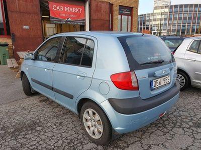 begagnad Hyundai Getz 5-dörrar 1.4 97hk -07