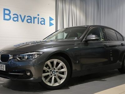 begagnad BMW 330e Sedan Sport line M o K Friktionsdäck 2018, Sedan 348 700 kr
