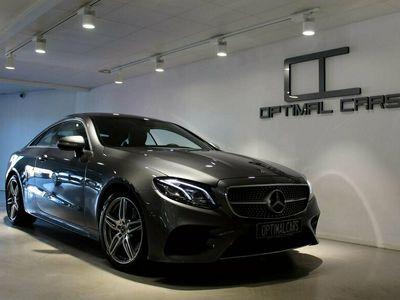 begagnad Mercedes E200 Coupé AMG Fullutr LEASEBAR