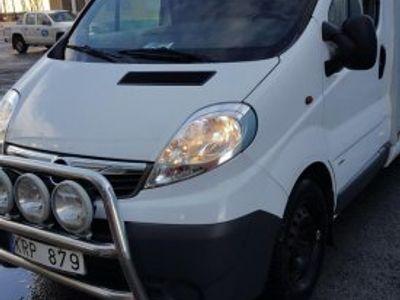 begagnad Opel Vivaro med Ydreskåp -10