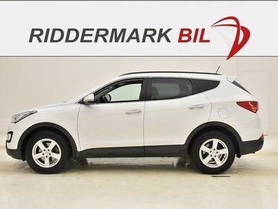 gebraucht Hyundai Santa Fe 2.2 CRDi-R 4WD 197hk SKINN AUT MOMS