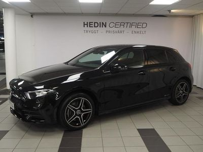 begagnad Mercedes A250 A BenzE AMG-Line Night Package 2021, Halvkombi Pris 419 000 kr