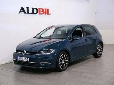 begagnad VW Golf TSI Pluspaket Dragpkt Dynaudio 2018, Halvkombi Pris 179 000 kr