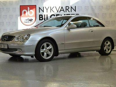 begagnad Mercedes CLK240 Coupé Automat Avantgarde 170hk