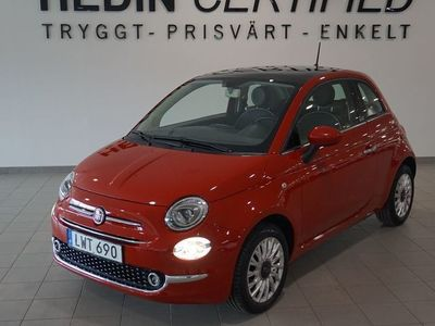 gebraucht Fiat 500 Lounge Panorama Bluetooth -16