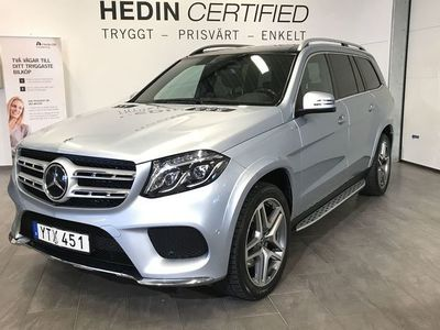 begagnad Mercedes GLS350 - BenzAMG - Line 4 - Matic D - Värmare Panorama 7 - Sits