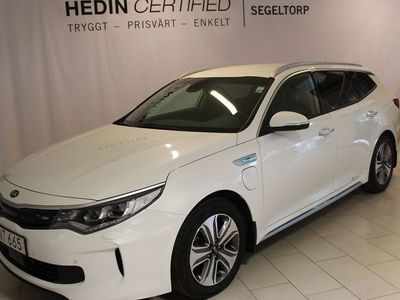begagnad Kia Optima 2.0 GDi Plug-in Hybrid Plus1 S+V-hjul