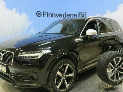 begagnad Volvo XC90 D5 AWD R-Design 7s. v-hjul drag 2019, SUV Pris 498 000 kr