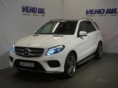 begagnad Mercedes GLE350 4MATIC AMG Värmare Distronic Panorama Navi Drag