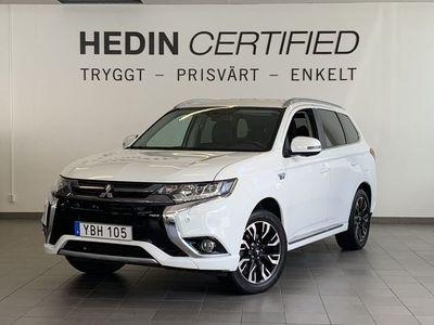 begagnad Mitsubishi Outlander P-HEV 4WD Business NAV / DRAG *V-hjul*